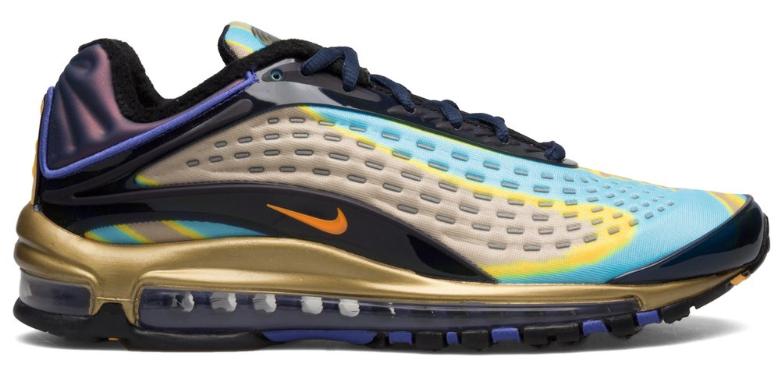 Nike Air Max Deluxe Blauw / Oranje