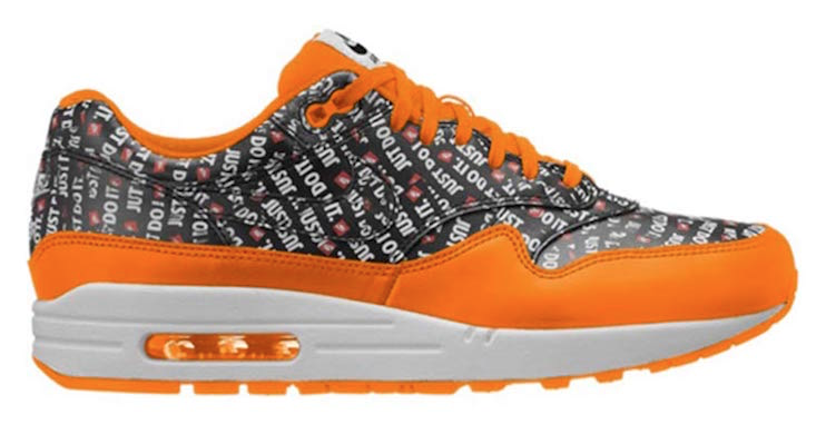 Nike Air Max 1 Premium 'Just Do It' Oranje
