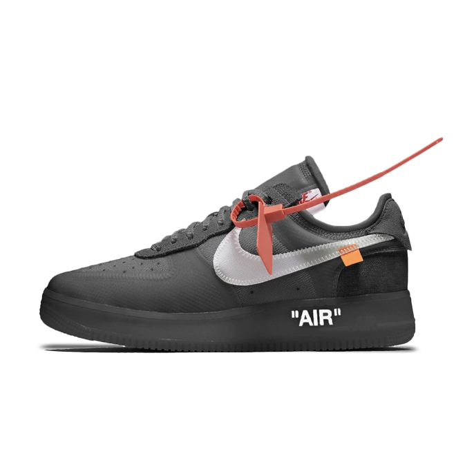 Off White Nike Air Force 1 Zwart AO4606 001 |