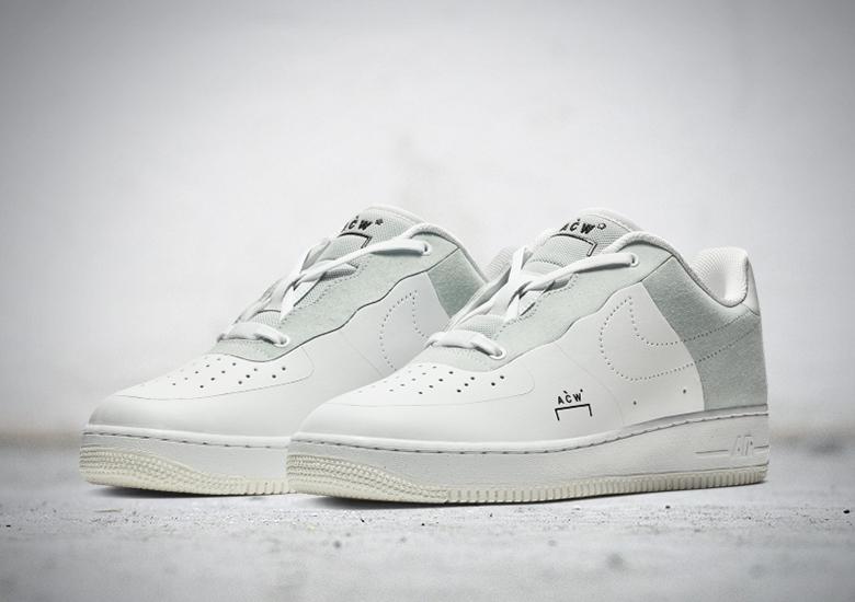 Releasedatum van de A Cold Wall X Nike Air Force 1 is bekend