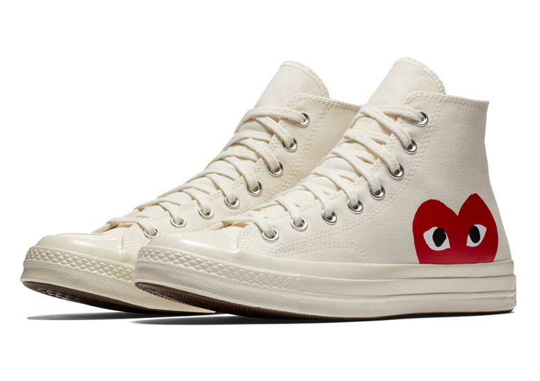 RE STOCK: Comme Des Garcon X Converse Chuck 70 | Sneakerjagers