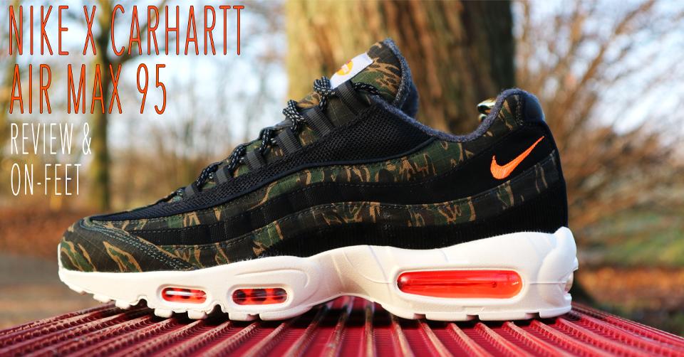 KixFix Nike x Carhartt WIP Air Max 95 Review & On Feet