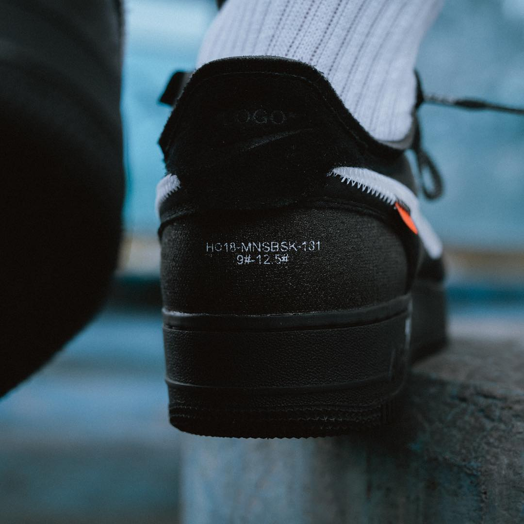 Off White X Nike Air Force 1 Low release info 19 december