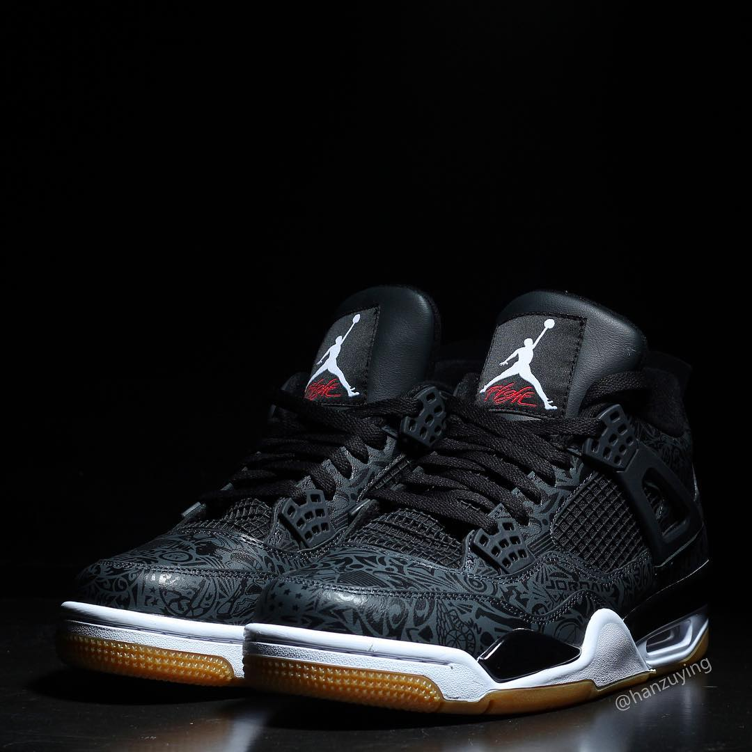 "Air Jordan 4 SE Lazer ""Black Gum"""