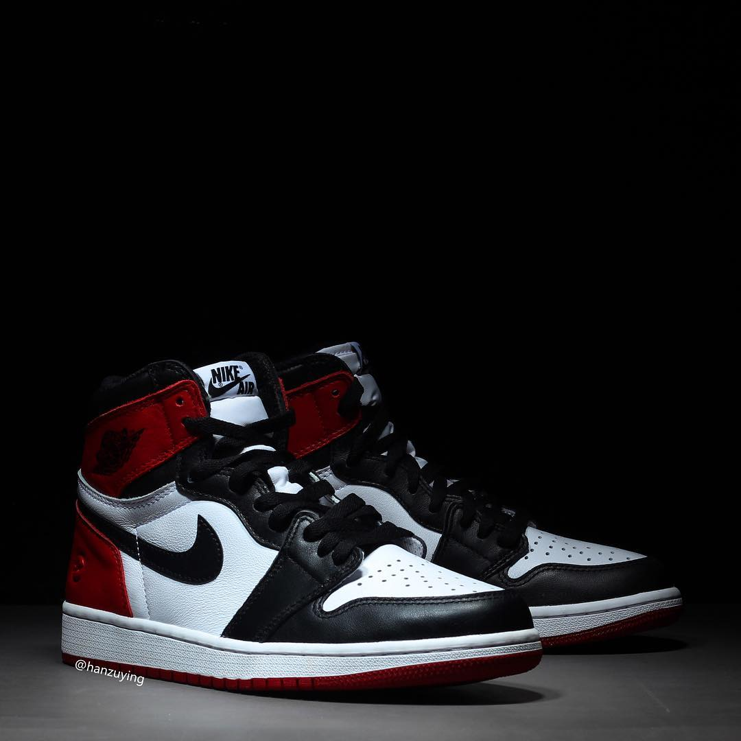 "Fragment x Air Jordan 1 ""Black Toe"""