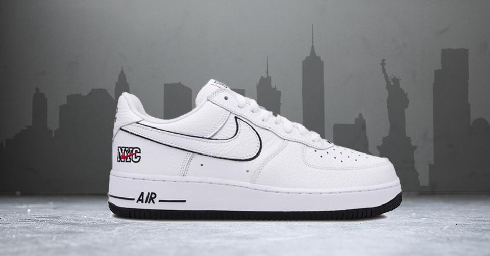 Nike en DSM brengen een ode aan New York met een Air Force 1