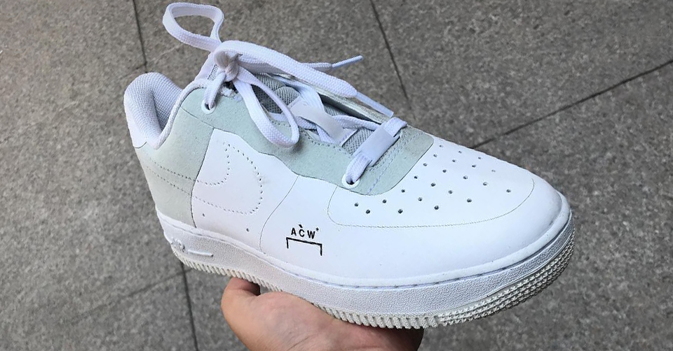 Releasedatum van de A Cold Wall X Nike Air Force 1 is bekend