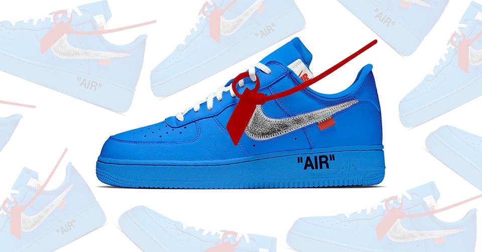 Nieuwe Off White x Nike Air Force 1 gespot | Sneakerjagers