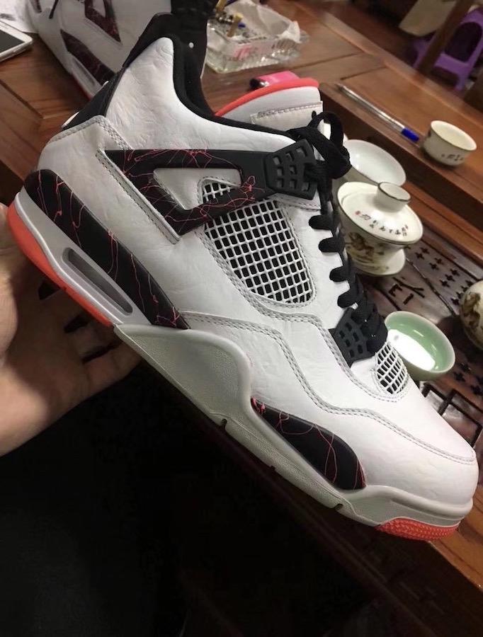 "Air Jordan 4 ""Pale Citron"""