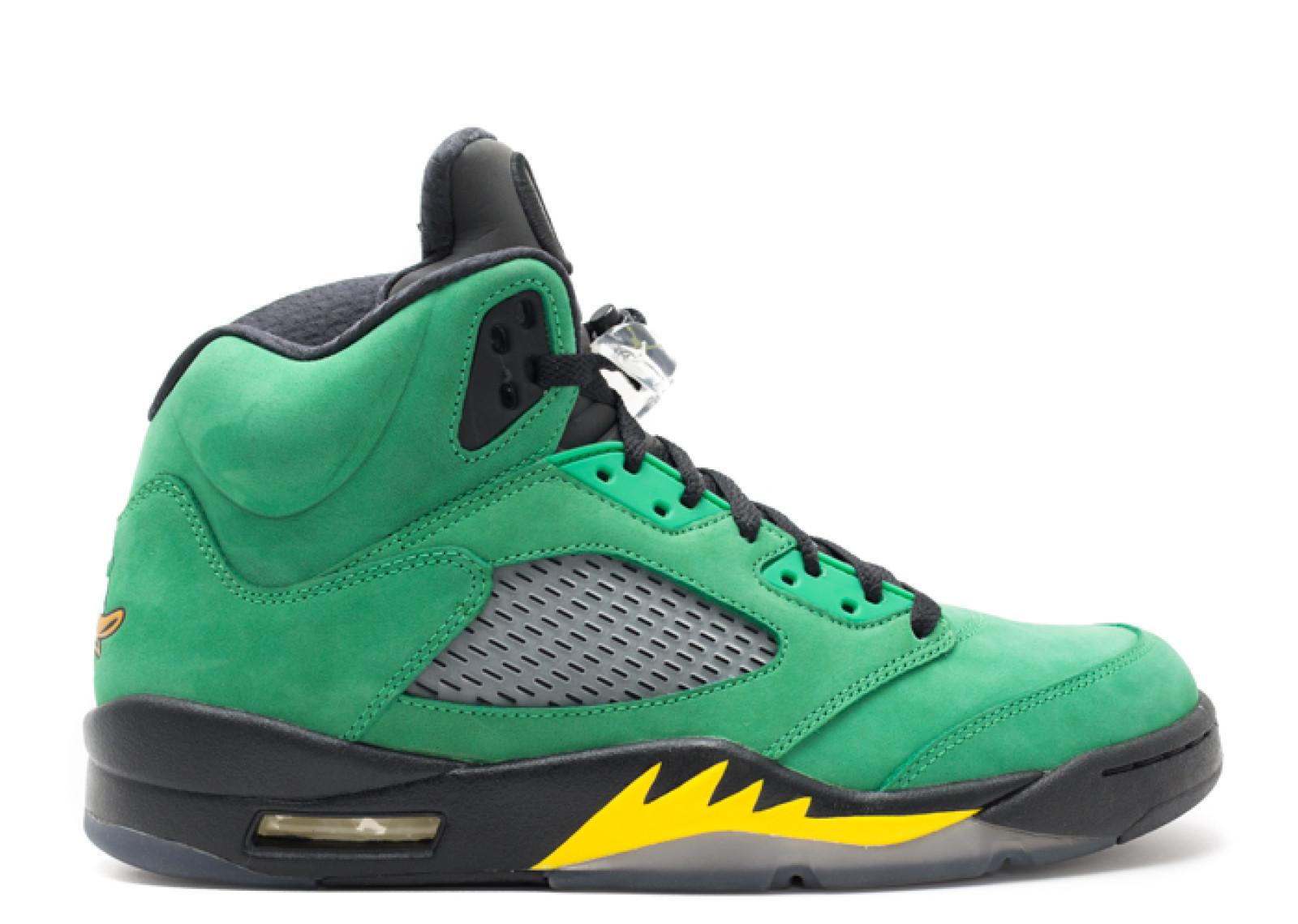 """Jordan 5 """"Oregon Duck"""""""