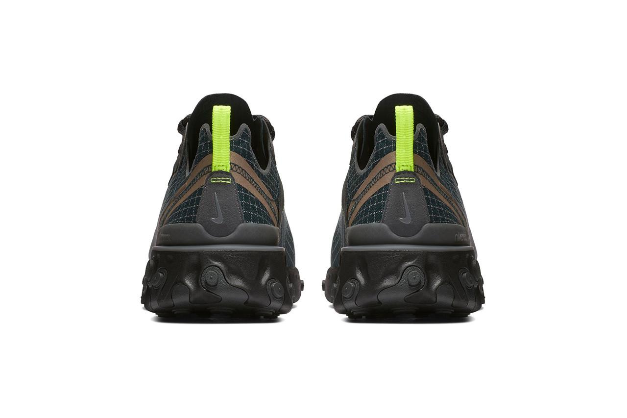 Nike React Element 55 'Dark Green'
