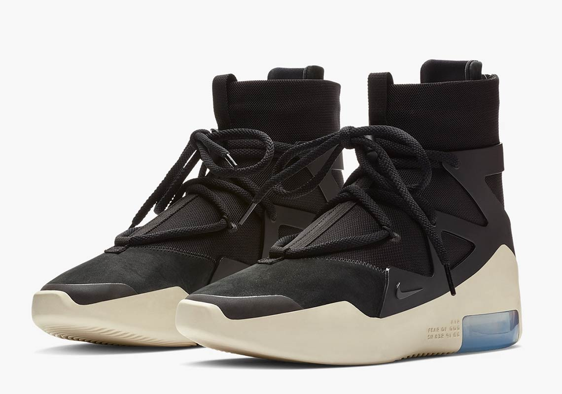 Nike Air Fear Of God 1 'Black'