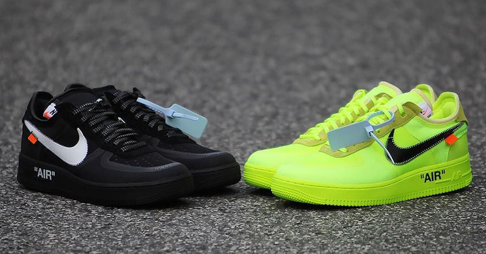 Off White x Nike Air Force 1 Low release info | Sneakerjagers