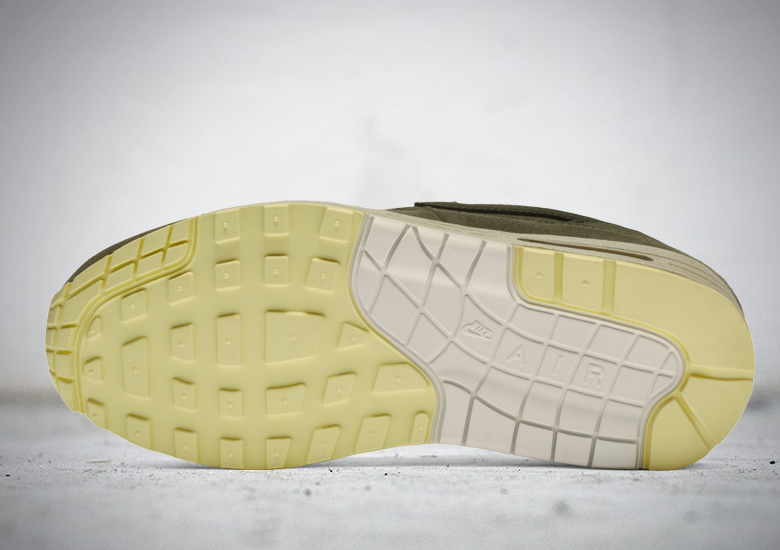 De langverwachte Nike Air Max 1 'Olive' is eindelijk