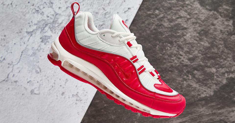 De Nike Air Max 98 krijgt een University Red makeover
