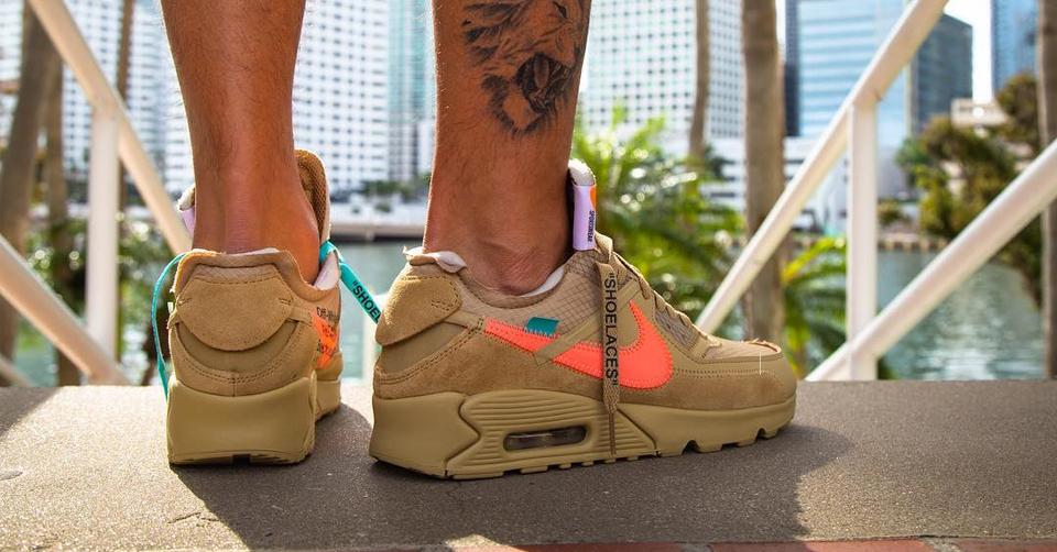 Releasedatum Off White X Nike Air Max 90 bekend | Sneakerjagers