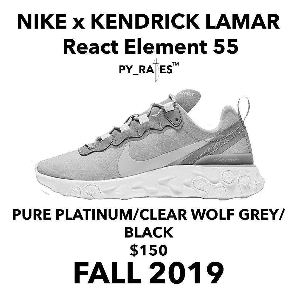 Nike React Element x Kendrick Lamar