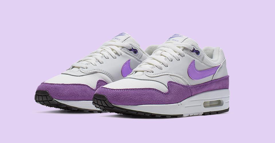 Summervibes met de Nike Air Max 1 'Purple' 319986 118