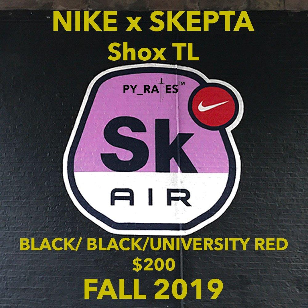 Skepta x Nike Shox TL