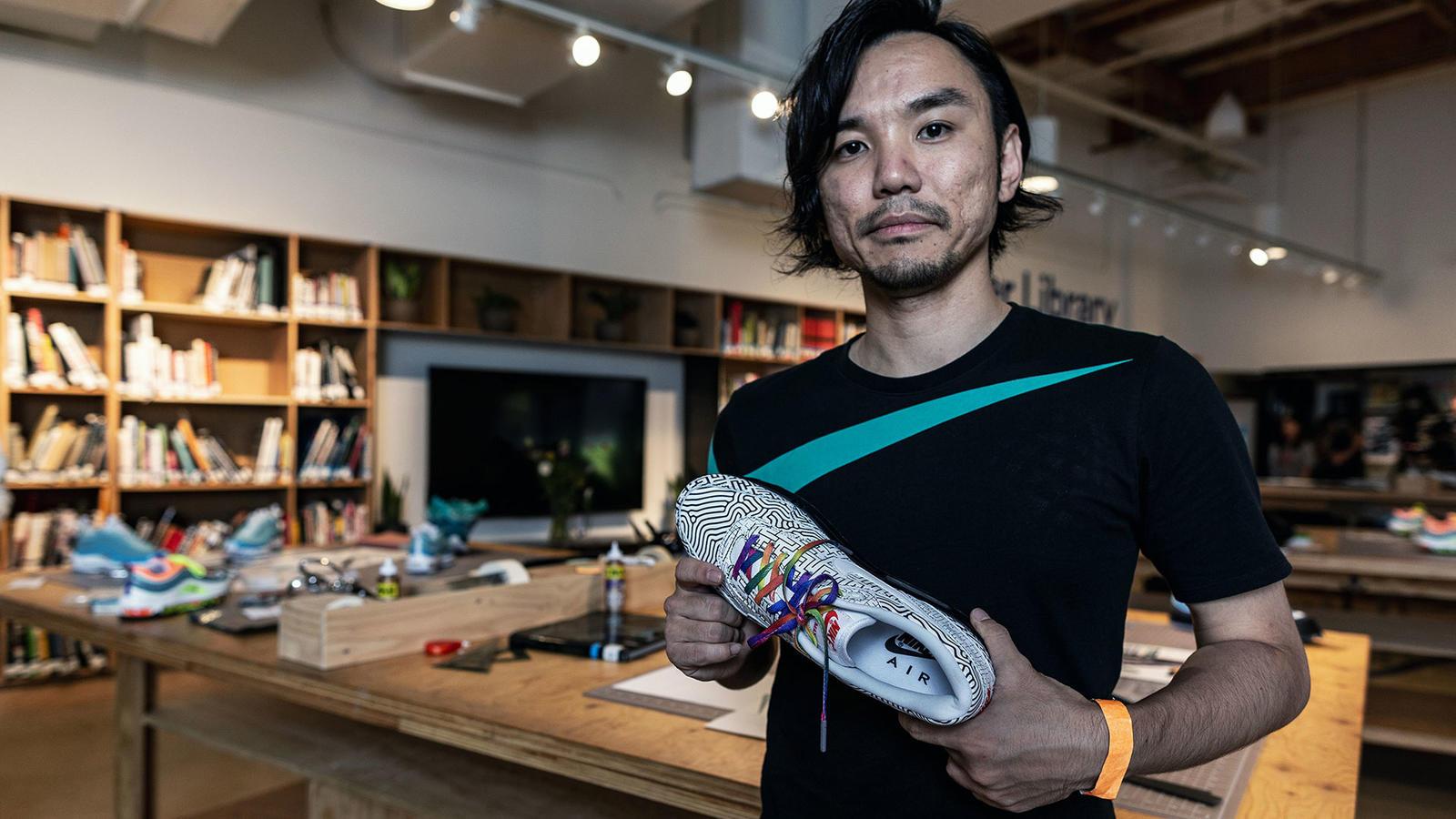 Nike Air Max 1 Tokyo Maze by Yuta Takuman