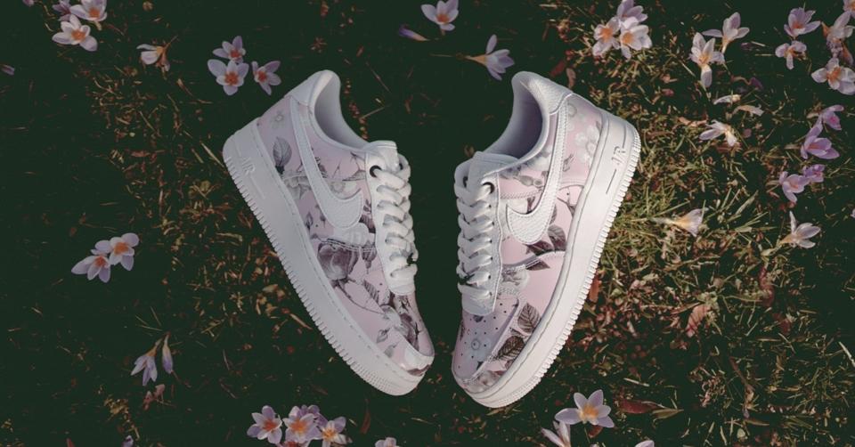 nike air max 1 dames bloemen