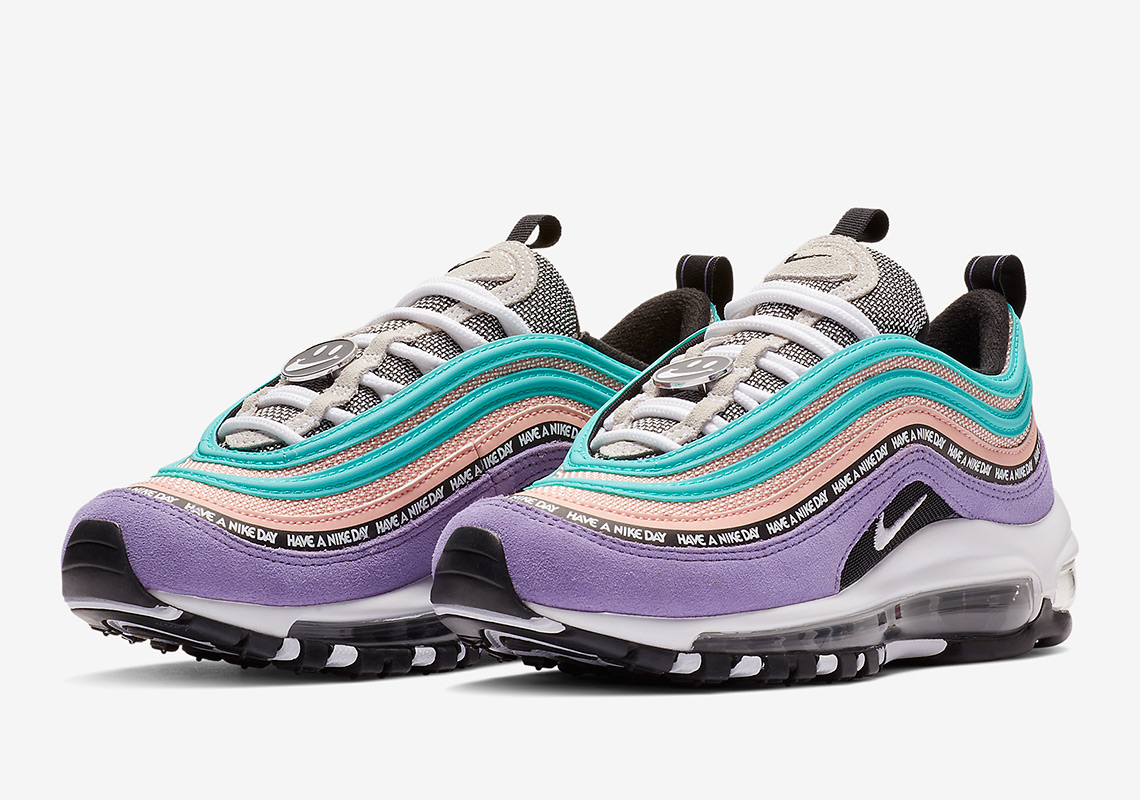 NIKE AIR MAX 97 SE GS 'HAVE A NIKE DAY' 923288-500