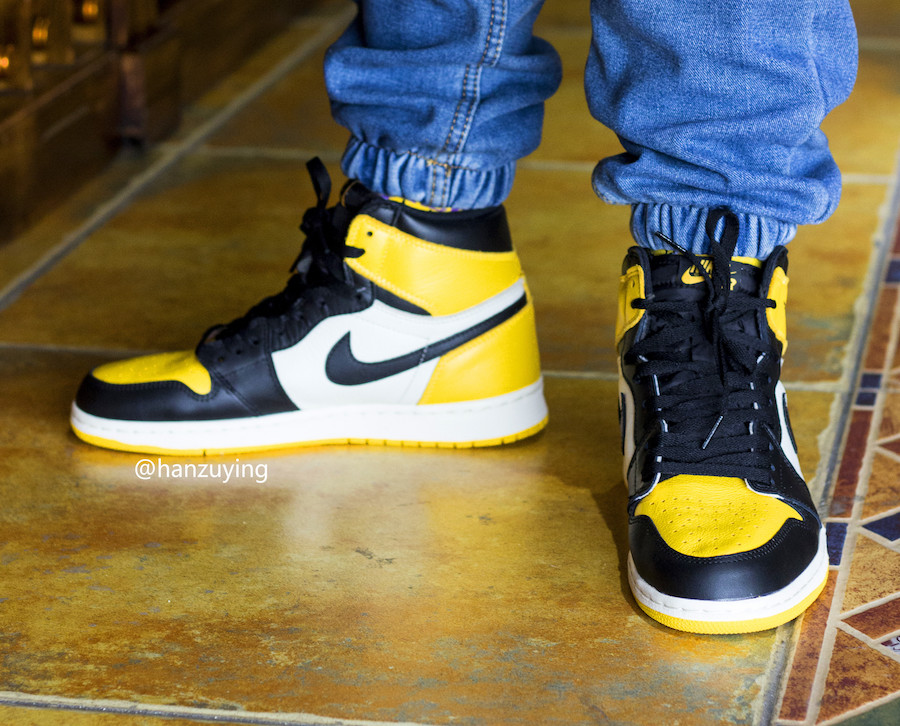 "Air Jordan 1 ""Yellow Toe"""
