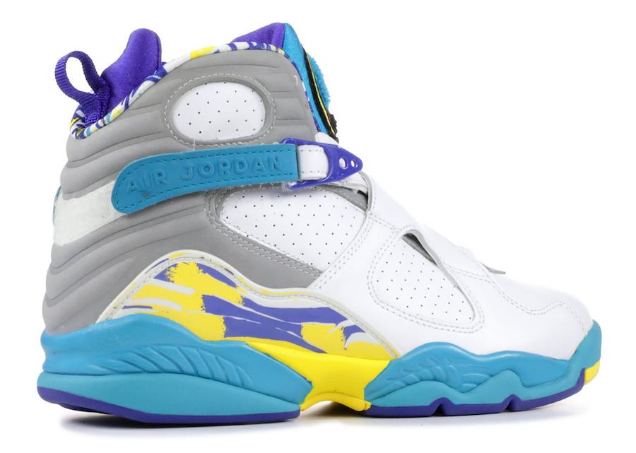 "Air Jordan 8 ""White Aqua"""