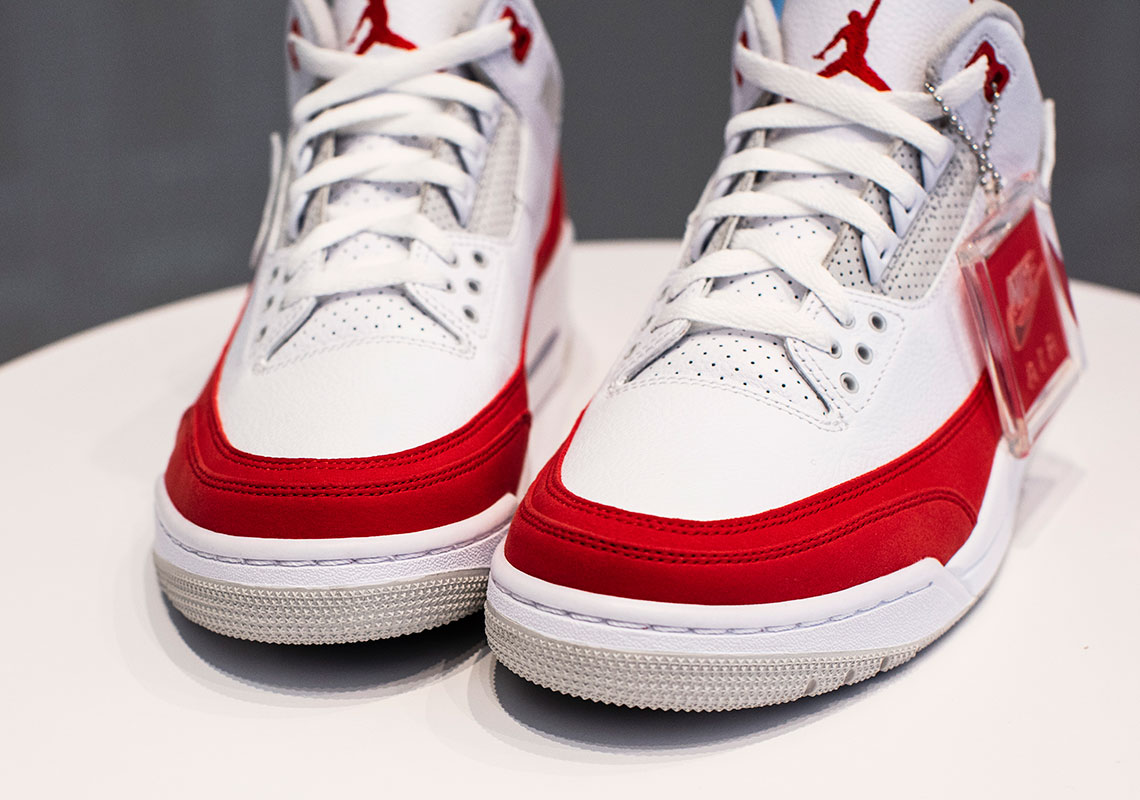 Air Jordan 3 Retro Tinker 'University Red' CJ0939-100
