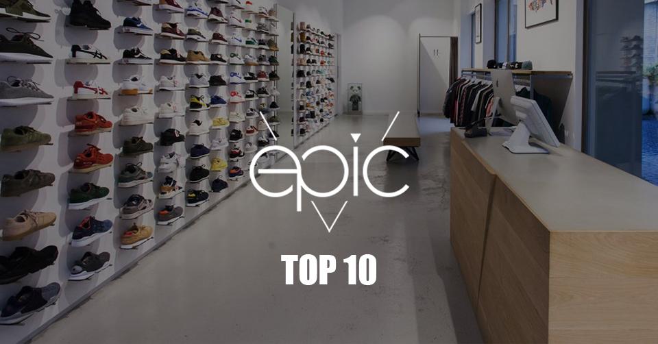 Epic Store Breda Top 10 New Arrivals | Sneakerjagers