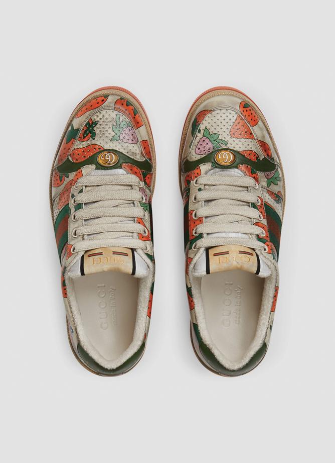 Gucci Screener aarbeien sneaker