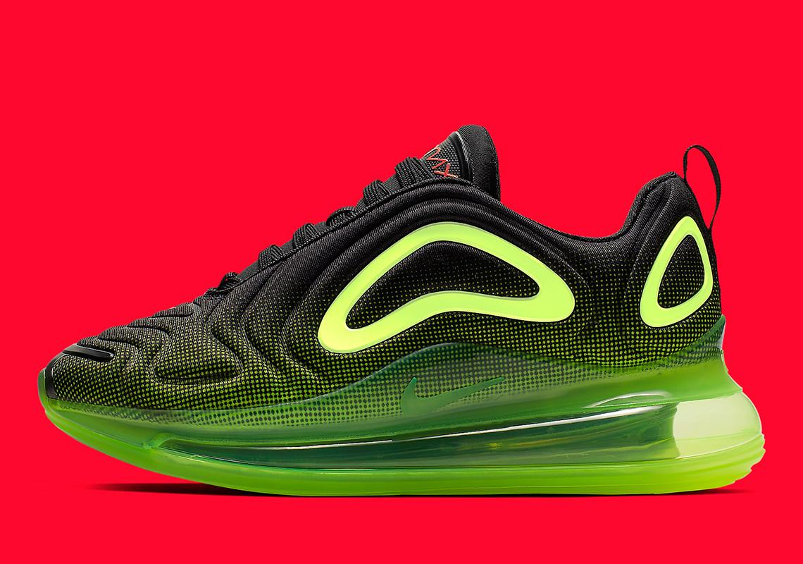 Nike Air Max 720 'Black Volt' AQ3196-005