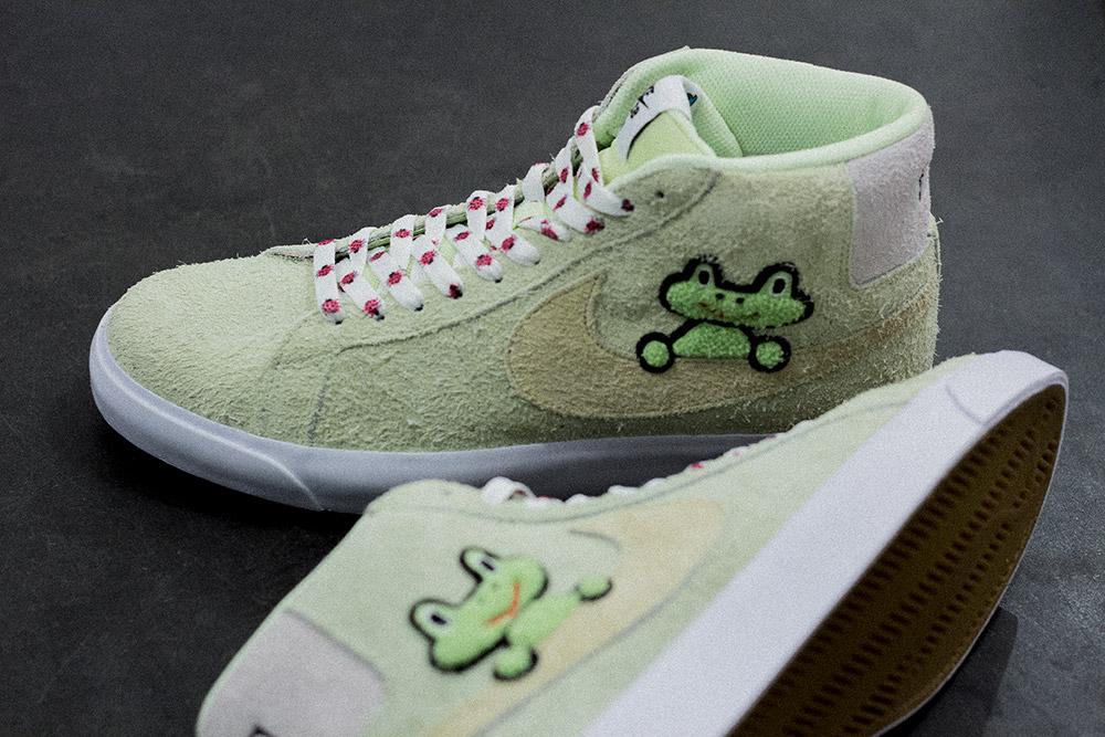 Nike SB X Frog Skateboards Zoom Blazer Mid QS