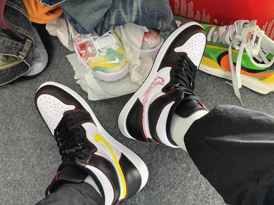 "Air Jordan 1 ""Dynamic Yellow"""