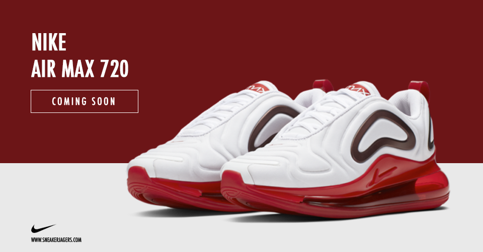 Nike Air Max 720 'White Gym Red' | Sneakerjagers