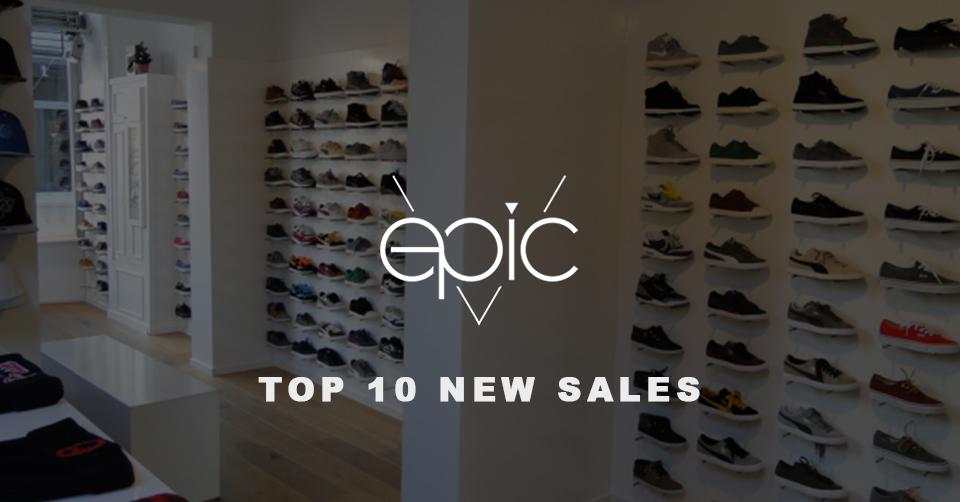 Epic Store Breda Top 10 sales | Sneakerjagers