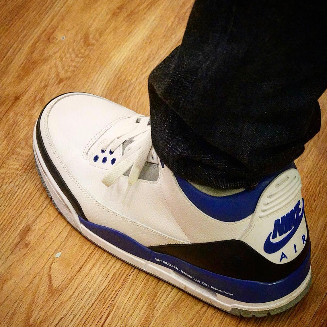 Fragment x Air Jordan 3