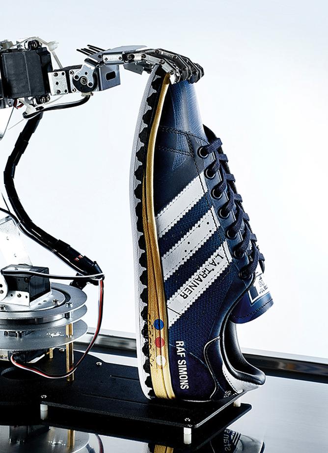 Raf Simons adidas samenwerking