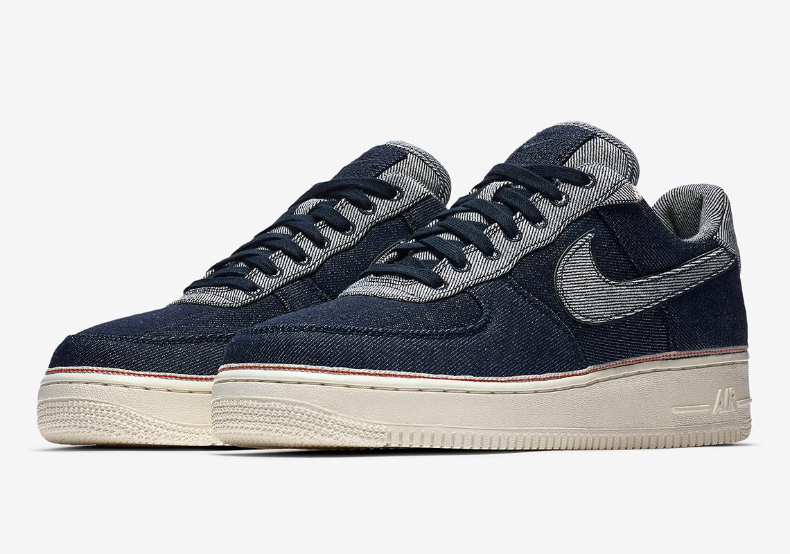 3X1 x Nike Air Force 1 gloednieuw 'Denim' pack   Sneakerjagers