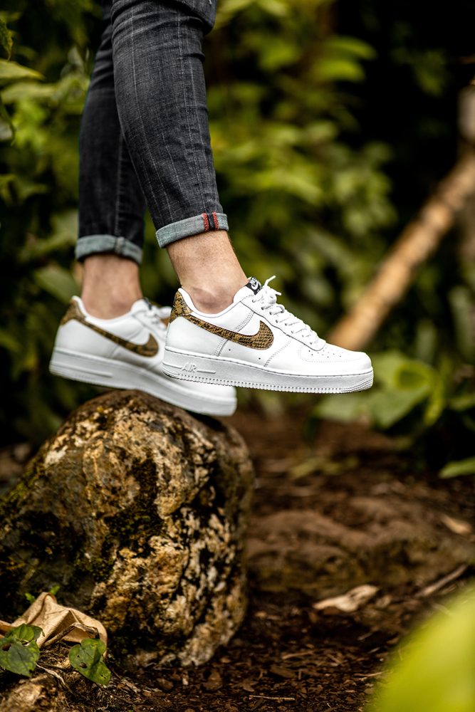 Nike Air Force 1 Low Premium QS 'Ivory Snake'