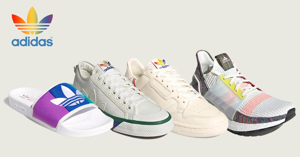 Het adidas 'Pride' pack komt uit op 1 juni   Sneakerjagers