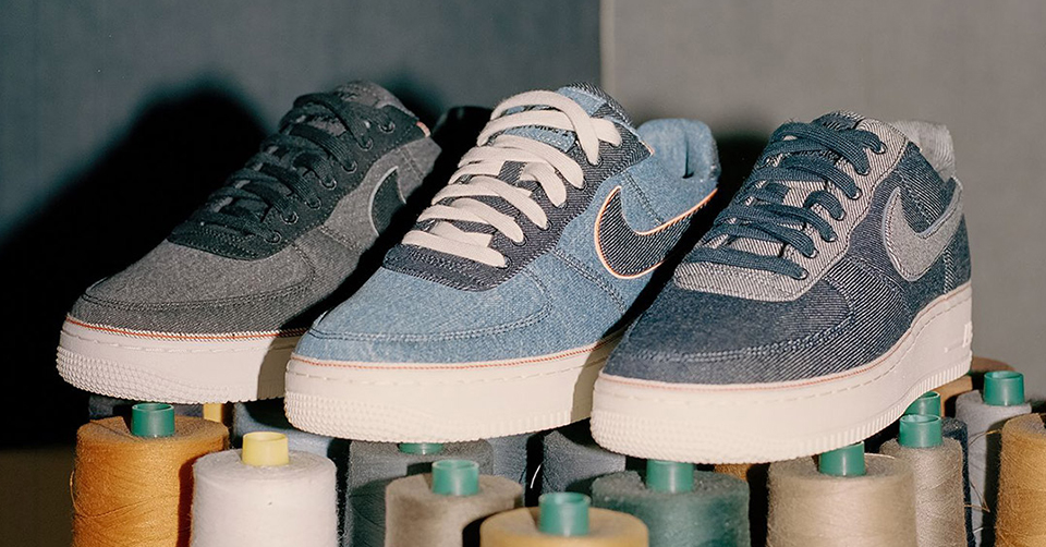 3X1 x Nike Air Force 1 gloednieuw 'Denim' pack | Sneakerjagers