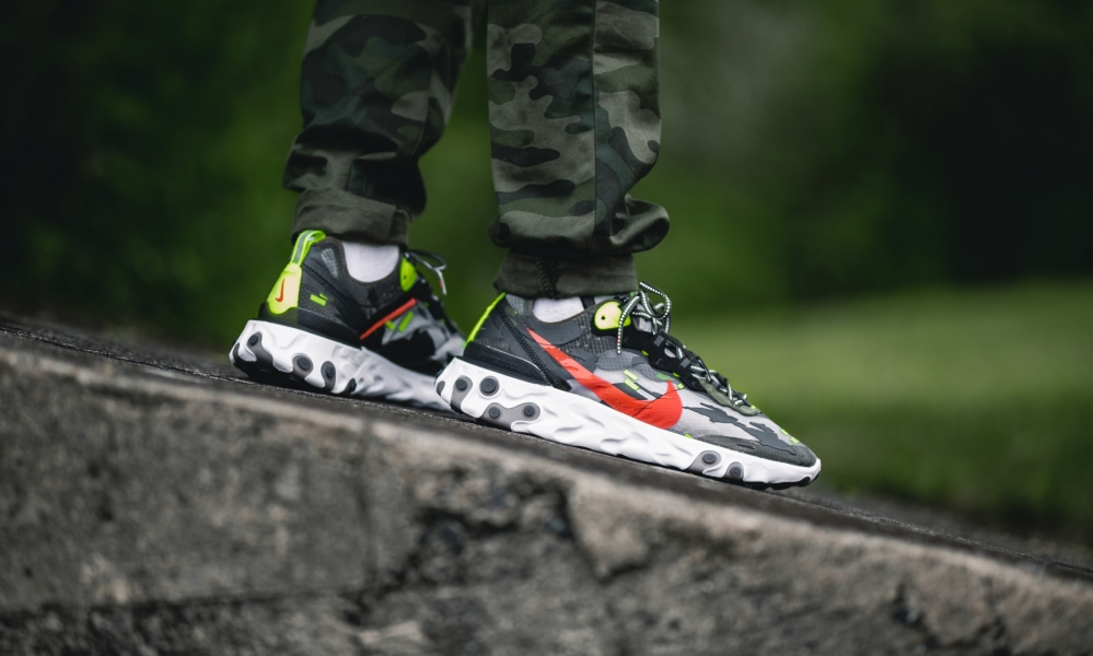 Nike Element 87 'Tiger Camo