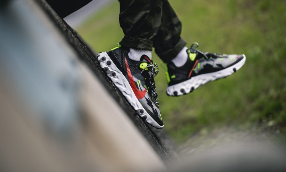 Nike Element 87 'Tiger Camo'