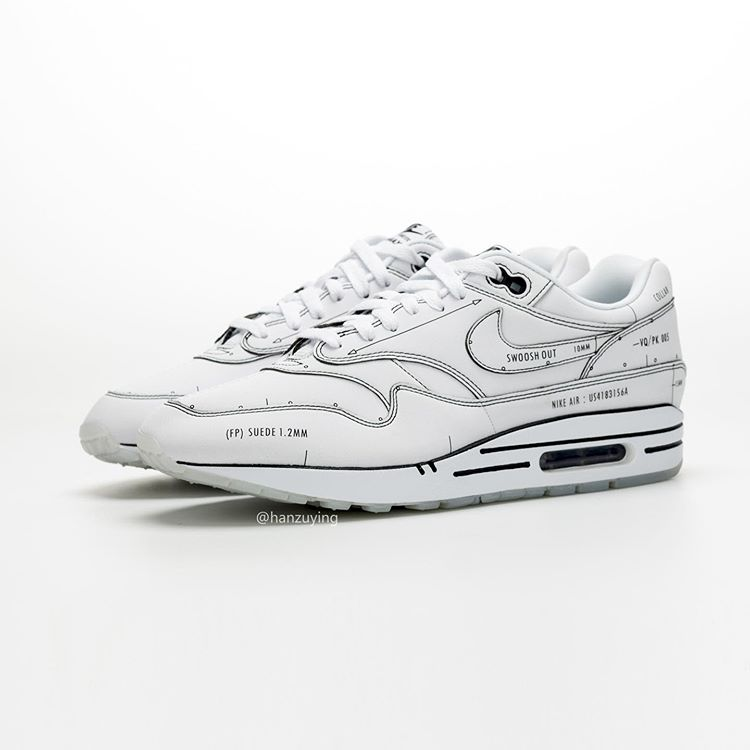 Nike Air Max 1 'Sketch To Shelf White' | Sneakerjagers