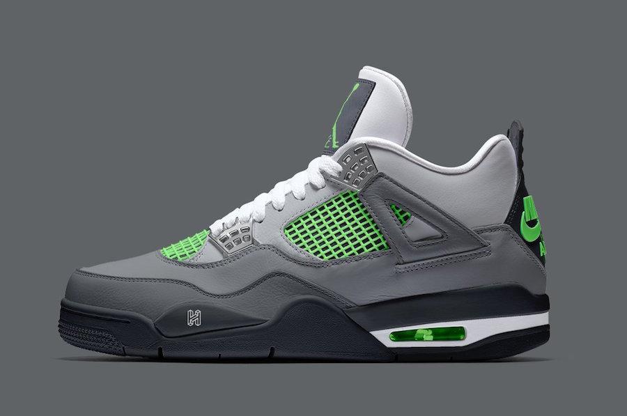 """Air Jordan 4 """"Neon"""""""