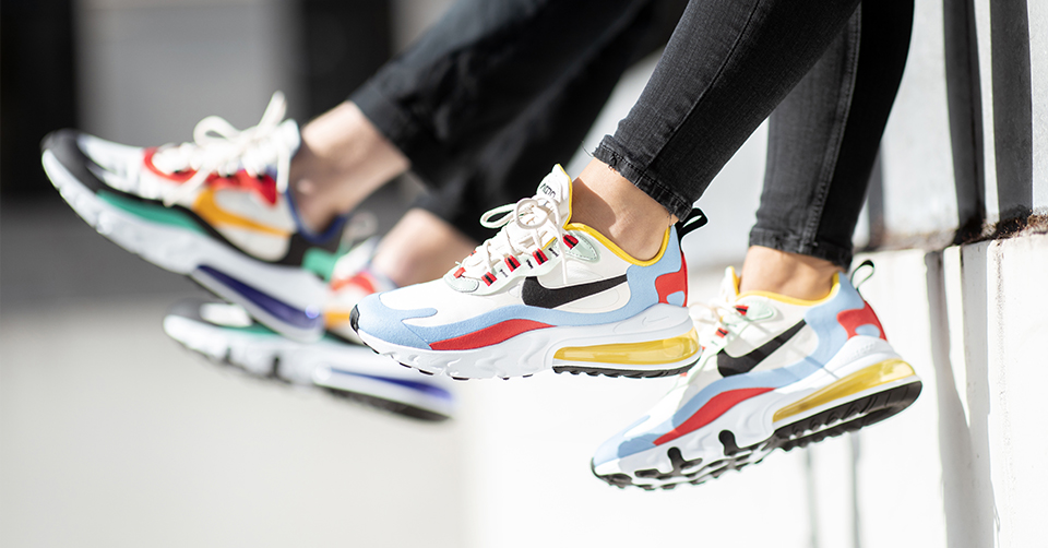 De Nike Air Max 270 React: Nike's meest comfortable