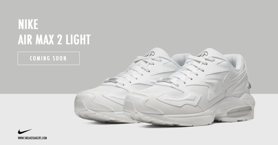 De klassieker Nike Air Max Light keert terug in 2019