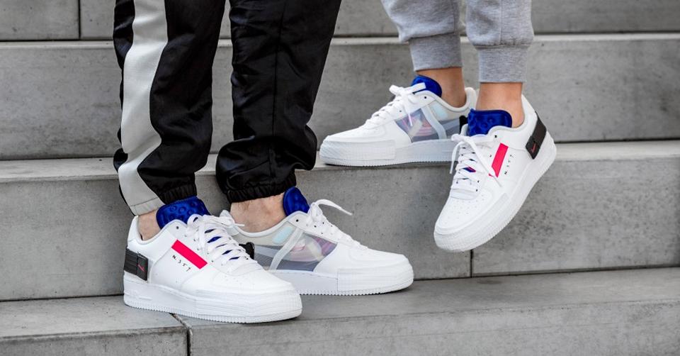 De Nike AF1 Type 'Summit White' dropt op 15 juli 2019
