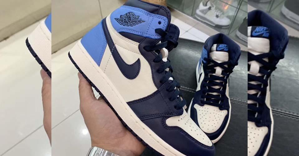 nike Air Jordan 1 Dames Blauw